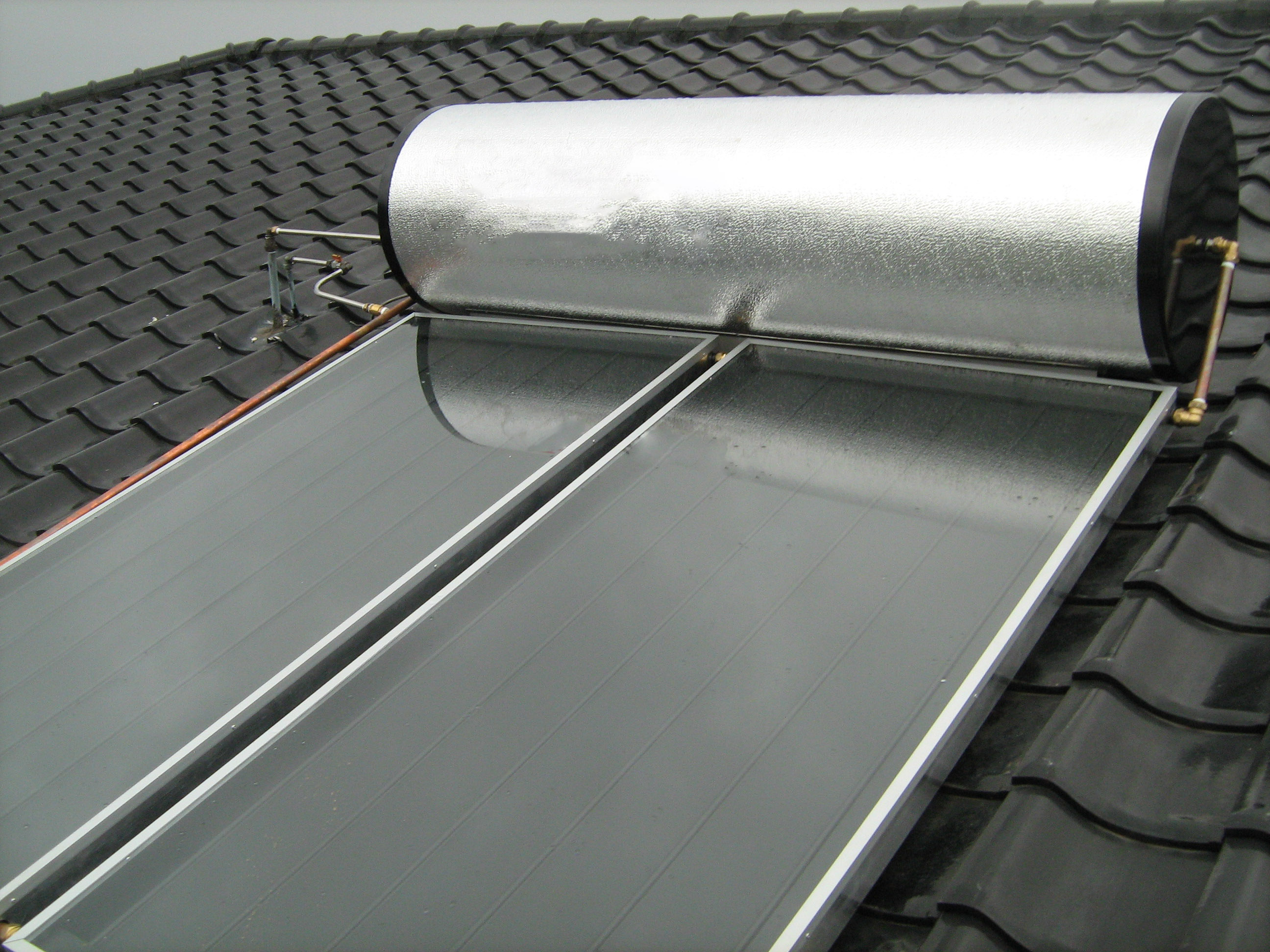 Thermal Solar Water Heating in Redding, CA