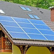 Home with Renewable Energy from Solar Panels in Chico, CA