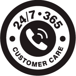 24/7•365 Customer Support Team
